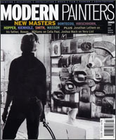 Modern Painters magazine cover